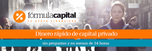 Microcréditos Fórmula capital Desde 600 hasta 25.000€