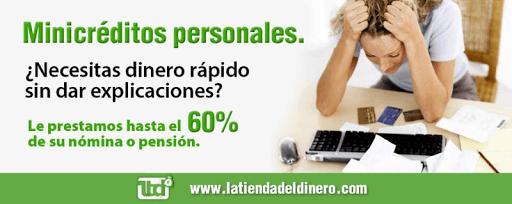 Minicrédito Latiendadeldinero.com