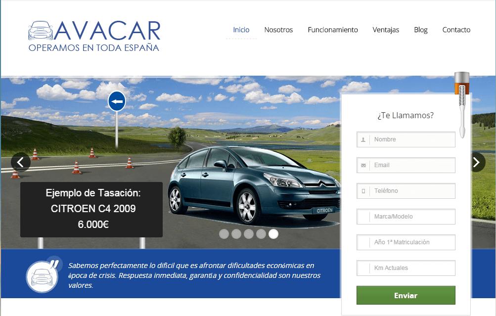 Avacar credito por tu coche