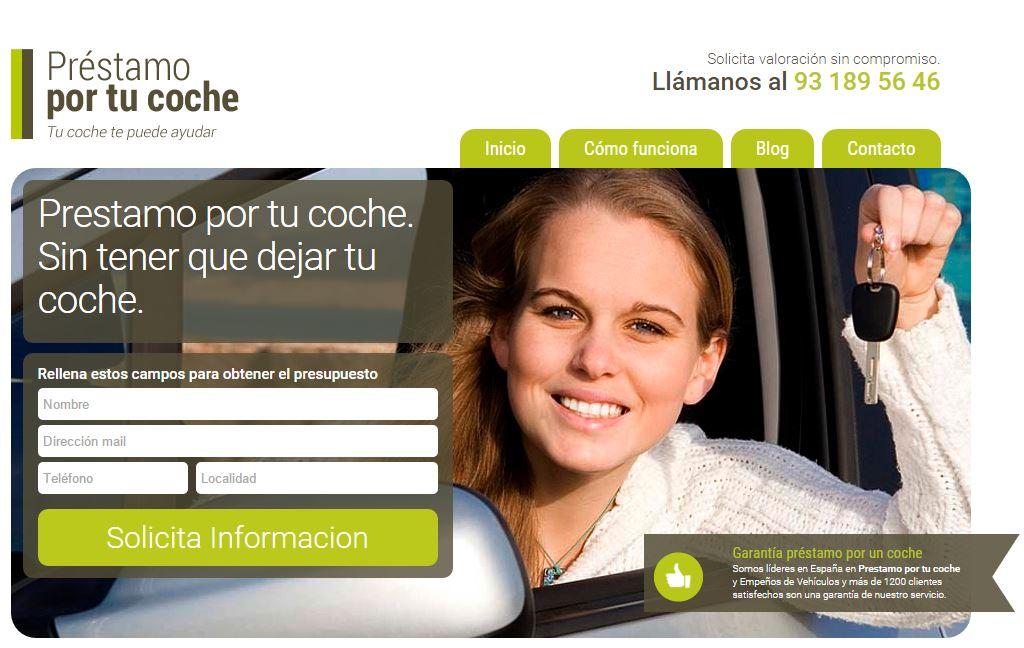 prestamoportucoche.net