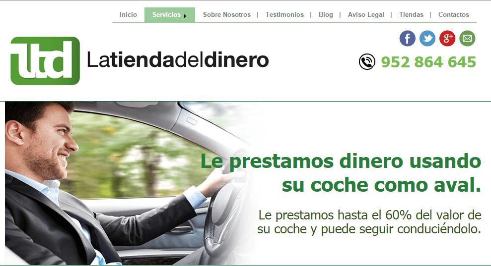 latiendadeldinero.com crédito por mi coche