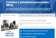 Prestamos BBVA Online