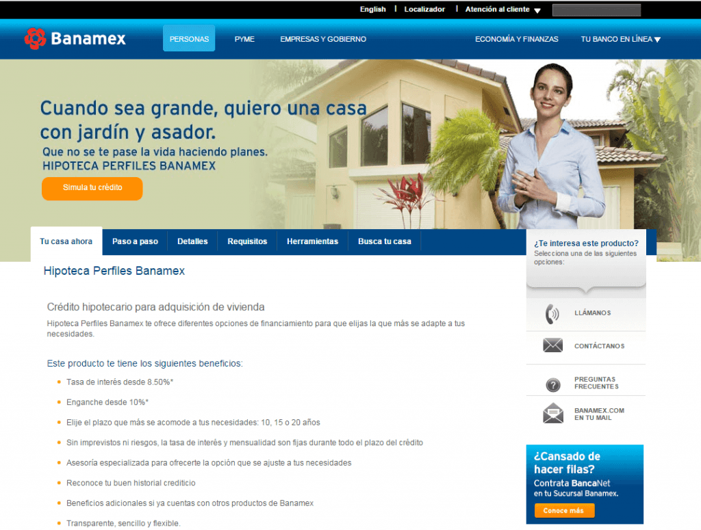 Banamex Créditos Para Hipotecas