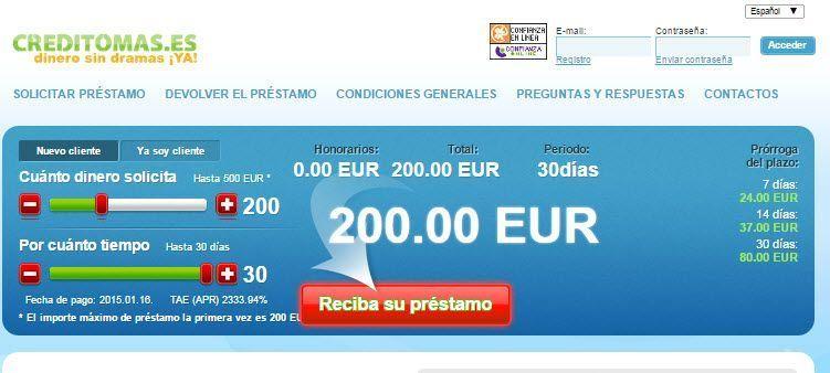 creditomas Creditos online respuesta inmediata