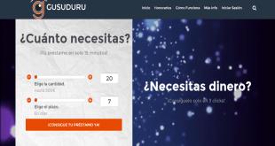 préstamos rápidos en Gusuduru.com