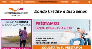 Unión Financiera Asturiana Préstamos De Hasta 6000€ en 3 pasos