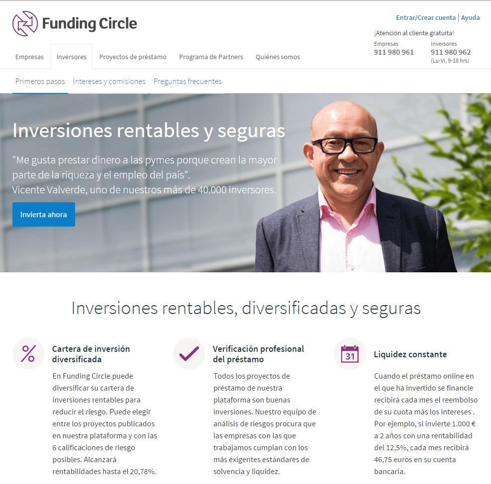 inversor de Funding Circle