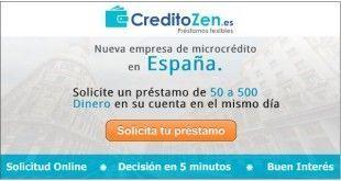 creditozen - microcreditos sin avales y con ASNEF