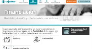 Préstamos Personales y creditos personales de Cajamar Online