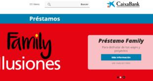 La Caixa - Como solicitar los prestamos online de Caixabank