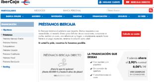 Créditos Y Préstamos IberCaja Online