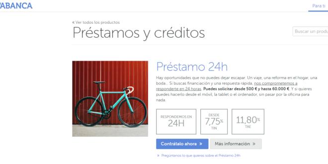 préstamos personales Abanca Online