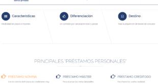 préstamos personales Banco caminos Online
