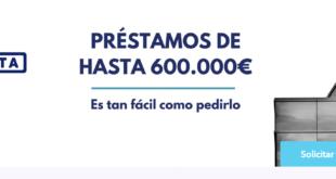 T-presta Solicita Prestamos y Créditos de hasta 600.000€