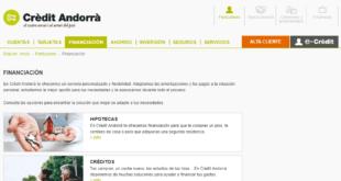 Crèdit Andorrà Online