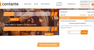 Anticipos de dinero rápido de hasta 500€ de Contante
