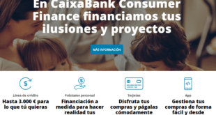 préstamos y créditos CaixaBank Consumer