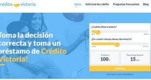 Crédito Victoria - Solicita créditos y préstamos de forma segura