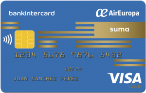 Tarjeta Visa Air Europa Suma Bankintercard